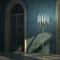 Floor-standing lamp / original design / bronze / crystal IL PEZZO 3 Il Pezzo Mancante