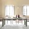 contemporary table / aluminum / rectangular / garden