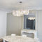 Pendant lamp / contemporary / stainless steel / LED NUAGE N°27B Thierry Vidé Design