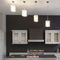 Pendant lamp / contemporary / stainless steel / LED ELLIPSE N°12 Thierry Vidé Design