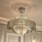 Pendant lamp / contemporary / stainless steel / LED GALAXIE N°6B Thierry Vidé Design