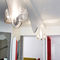 Contemporary wall light / stainless steel / halogen ANGE ET DÉMON N°19 Thierry Vidé Design
