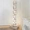 Contemporary light column / stainless steel / halogen / indoor ONDE N°1 Thierry Vidé Design