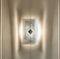 Contemporary wall light / stainless steel / halogen / rectangular N°10 Thierry Vidé Design
