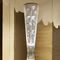 Contemporary light column / stainless steel / halogen / indoor FLORALE N°22 Thierry Vidé Design
