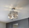 pendant lamp / contemporary / polished stainless steel / LED