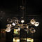 contemporary chandelier / brass / steel / handmade