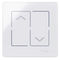 light switch / for roller shutters / touch / double