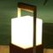 portable lamp / contemporary / metal / wooden
