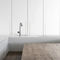 contemporary kitchen / wooden / U-shaped / handleless