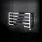 hot water towel radiator / steel / contemporary / horizontal