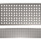 street drainage channel / stainless steel / flat / with grating