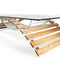 Original design coffee table / iroko / tempered glass / crystal TABVLA PALMAR arredi