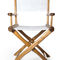 contemporary chair / director's / fabric / ash