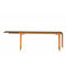 Scandinavian design dining table / oak / walnut / teak