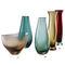 contemporary vase / blown glass