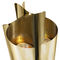 table lamp / contemporary / gold-plated brass / handmade