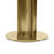 floor-standing lamp / contemporary / brushed brass / halogen
