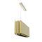 hanging lamp / contemporary / brass / handmade