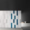 contemporary wardrobe / lacquered wood / oak / with swing doors