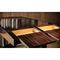 wooden desk / metal / Art Deco / by Pierre Chareau