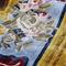 traditional rug / patterned / silk / rectangular