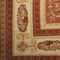 classic rug / patterned / wool / silk