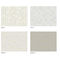 contemporary wallpaper / polyester / patterned / non-woven