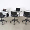 Contemporary visitor chair / tablet / on casters / upholstered FOUR SURE 66® by Strand & Hvass Four Design