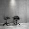 Contemporary visitor armchair / fabric / aluminum / polypropylene FOUR ME 66® by Strand & Hvass Four Design