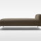 contemporary day-bed / fabric / indoor / residential