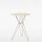 Contemporary high bar table / galvanized steel / round / triangular TIO Massproductions