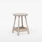 contemporary stool / oak / beech