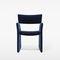 contemporary armchair / fabric / sled base / tablet