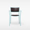 Contemporary chair / with armrests / upholstered / stackable JIG Massproductions