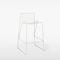 contemporary bar stool / metal / garden