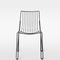 contemporary garden chair / stackable / metal