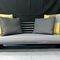 Contemporary sofa / fabric / leather / steel ZINGARO TERRE ET METAL