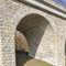 limestone wall cladding / exterior / textured