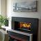 contemporary fireplace surround / slate