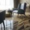 Indoor tile / floor / marble / geometric pattern TANGRAM by Raffaello Galiotto Lithos Design
