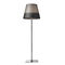 floor-standing lamp / contemporary / aluminum / stainless steel