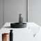 contemporary kitchen / wooden / island / with handles