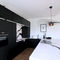 contemporary kitchen / marble / natural stone / stainless steel