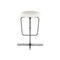 Bar stool / contemporary / adjustable FLAN by Pocci & Dondoli DESALTO spa