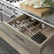 Traditional kitchen / solid wood / stainless steel / island ENGLISH MOOD Minacciolo