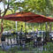commercial patio umbrella / for hotels / for bars / for public pools