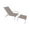 contemporary sun lounger / Batyline® / stainless steel / commercial