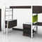 corner wardrobe / modular / contemporary / wooden