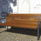 Public bench / traditional / wooden / with backrest COMFORT GUYON